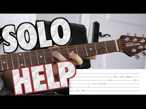 Helpful Guitar Solo Tips