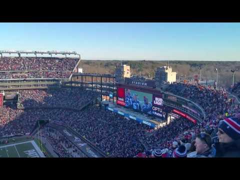 December 4th 2016 Rams Vs Patriots: 2001 Super Bowl Halftime Ceremony