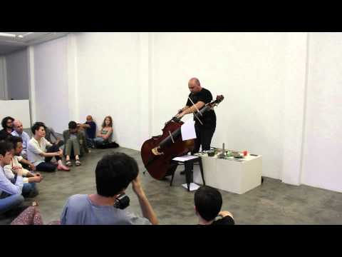 Raed Yassin Double Bass Solo at Marsèlleria in Milan