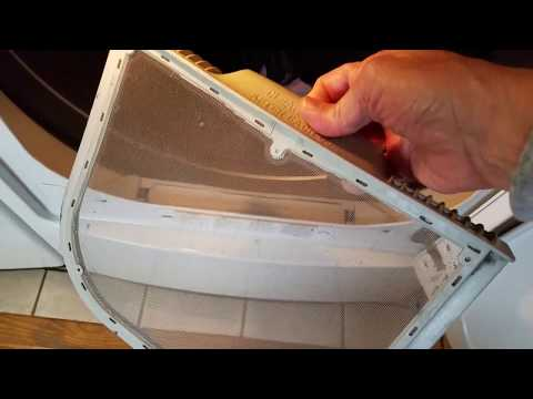 How to Remove Lint Buildup from your LG dryer