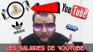 🖥 LE SALAIRE DES YOUTUBEURS/INFLUENCEURS (SPONSO,PARTENARIATS)