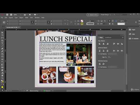 In Design   Part   15 Aligning And Distributing Objects In InDesign
