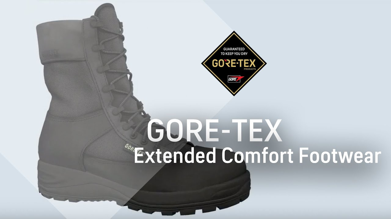 gore tex extended comfort