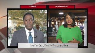 Local reaction: Alabama v. Clemson