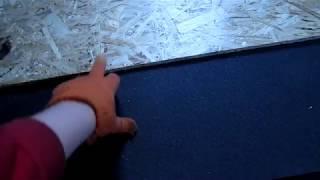 видео Теплоизоляция бетонного и деревянного пола в квартире и доме