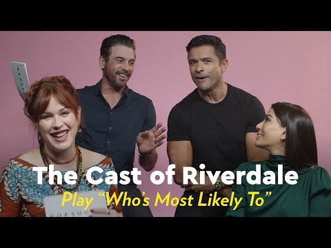 "We Challenged the Riverdale Cast to a Game of ""Who's Most Likely,"" and We're Still Laughing"