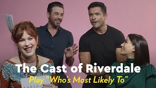 "The Cast of Riverdale Plays ""Who's Most Likely"""