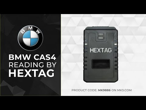 BMW CAS4 Reading By HexTag