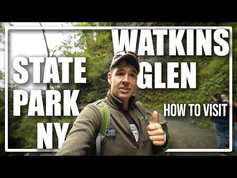 How To Visit The Amazing Watkins Glen State Park In New York Fingerlakes