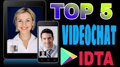 🔝5 Mejores Aplicaciones De Videochat | IDTA