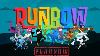PlayNow: Runbow | PC Gameplay (Colour Based Racing Platform Game)