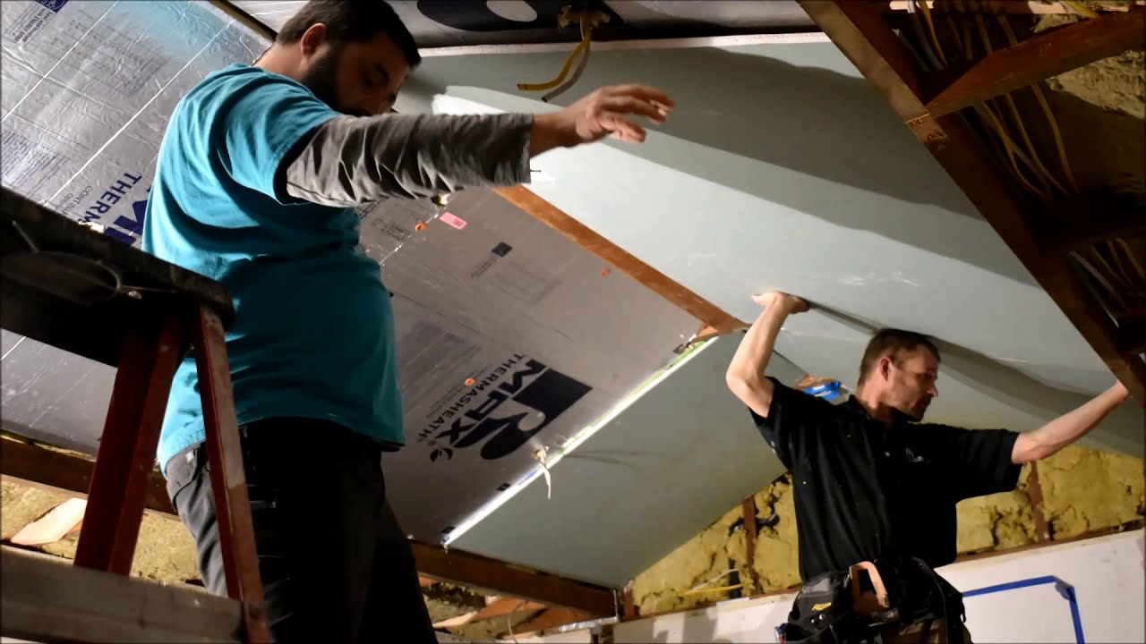 Home Renovation -Raising a Vaulted Ceiling
