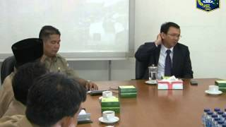 01 Mei 2013 Wagub Bpk. Basuki T. Purnama Rapat Koordinasi pembahasan pengaduan masyarakat