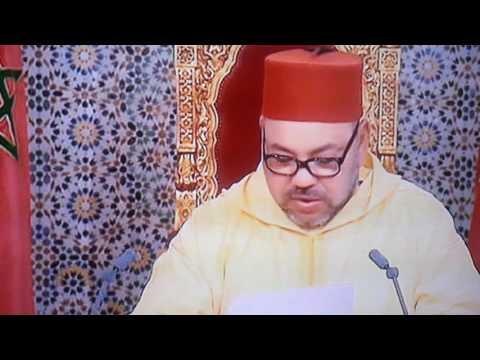 Le roi du Maroc,toujours pas de pétrole ni gaz,mais,30/082016
