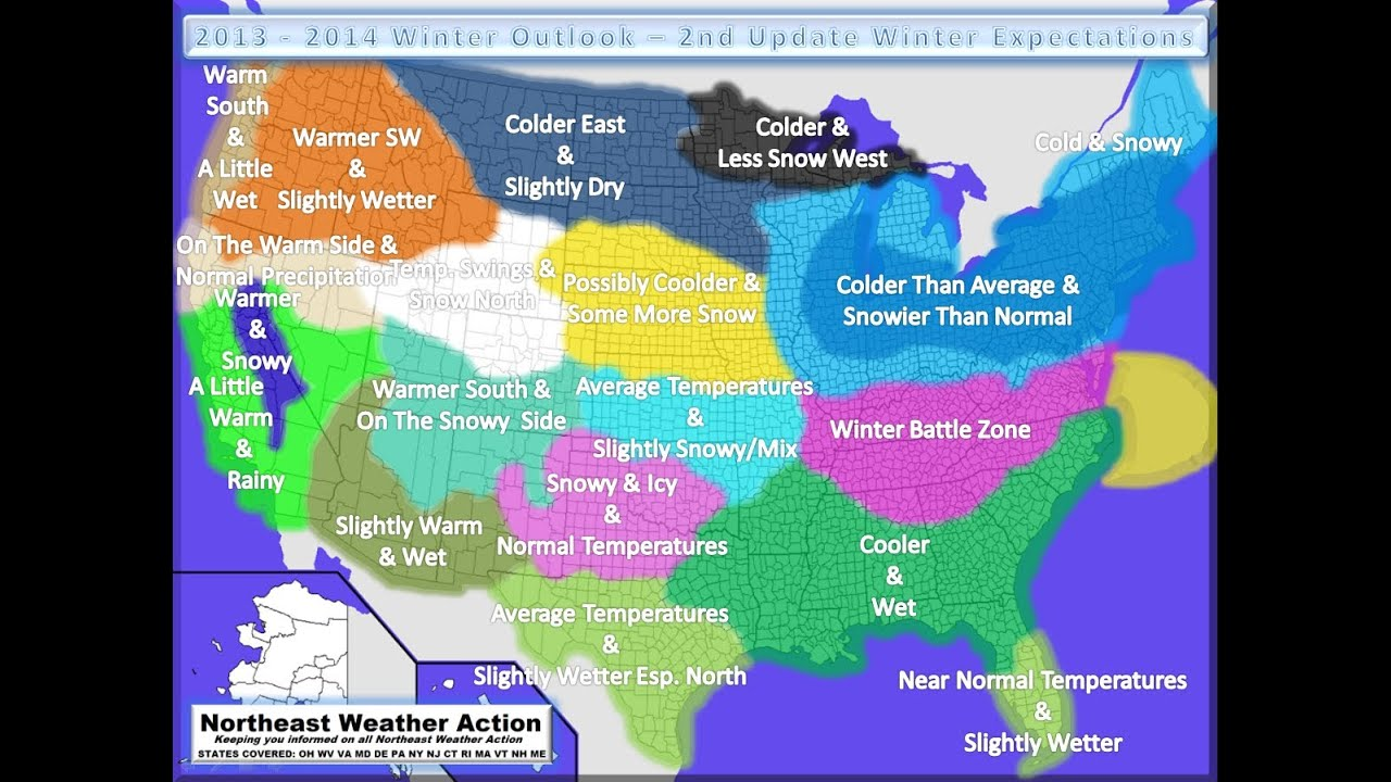 2013 2014 winter outlook 2nd update youtube sciox Gallery