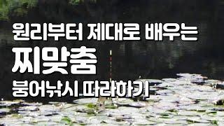 붕어낚시 찌맞춤 기본 원리 및 따라하기 l 채비 입문 강좌 l 물가에선나무 붕어 낚시 동영상 방송 채널