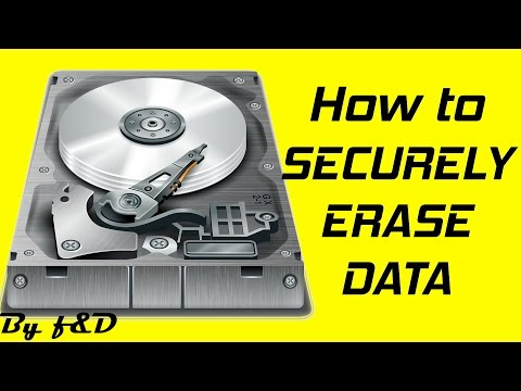 How to securely erase data from HDD, SD card, USB flash drive with ccleaner