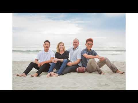 Photos on the beach, Encinitas CA - Kaboos Family | Marcy Browe Photography
