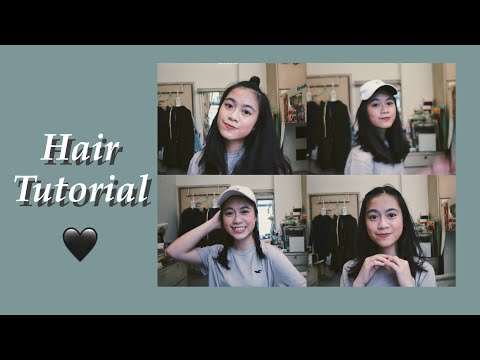 🖤Hair Tutorial髮型教學💇🏻♀️4種簡易髮型✨ | Agnes Yue🐨