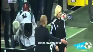 Guardiola vs Female Referee FIGHT Bayern Munich vs Borussia M'gladbach 0-0 26/10/2014