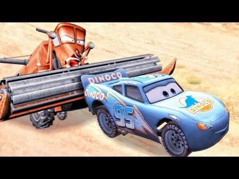 Тачки Молния Маквин Прохождение игры - Lightning McQueen Cars Race Gameplay