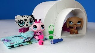 DIY Doll Igloo & Easy Sleeping Bags