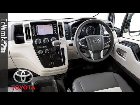 2019 Toyota HiAce Interior (Australia)