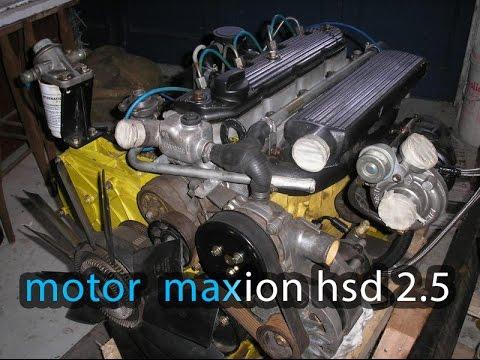 Motor Maxion Hsd 2 5 Funsionando Na Corente Youtube