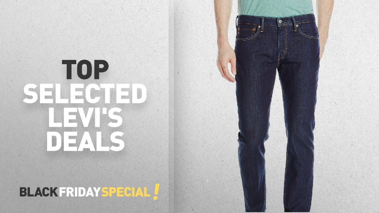 249e506bef91cf Top Black Friday Levi s Deals  Levi s Men s 511 Slim Fit Jean, Lazuli  Bunting, 30W x 32L