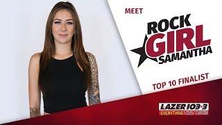 Meet $40,000 Rock Girl Finalist Samantha