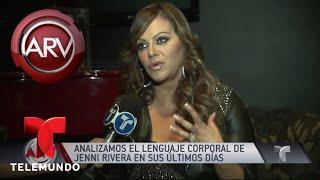 El lenguaje corporal de Jenni Rivera lo dijo todo | Al Rojo Vivo | Telemundo