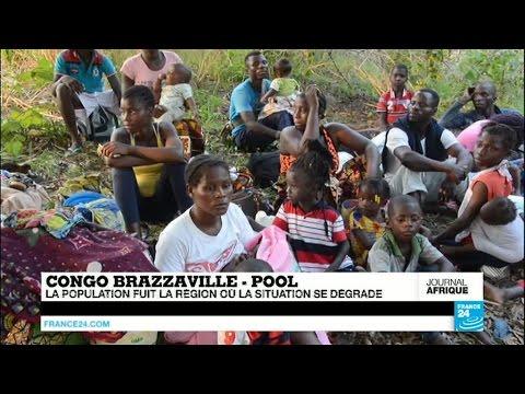 Congo-Brazzaville : la population fuit la région du Pool