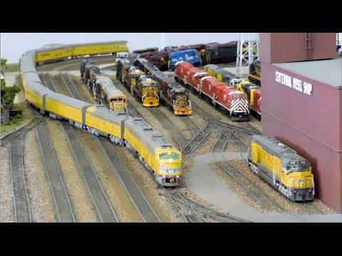 Model Railway Toy Train Track Plans -Terrific Ideas For Getting The Best From Your HO Scale: Passenger Special featuring UP, KCS, Amtrak, and Santa Fe