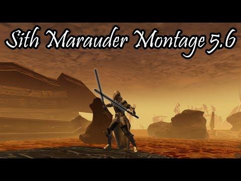 SWTOR: Sith Marauder Montage 5.6