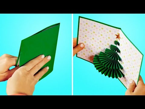 34 DIY HOLIDAY CARDS FOR YOUR LOVED ONES