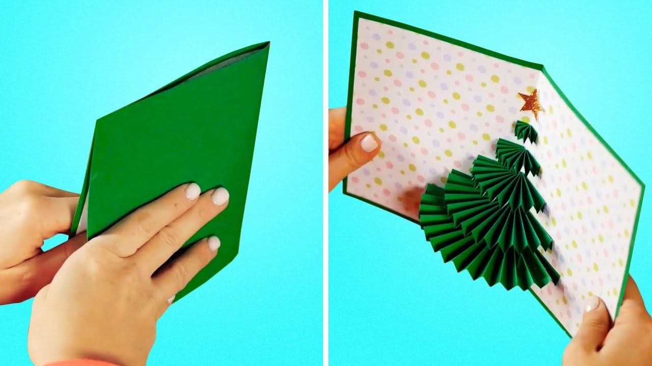 34 Diy Holiday Cards For Your Loved Ones Youtube