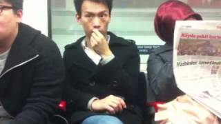 The art of extracting nasal mucus on the tube