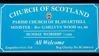 Morning Worship, Sunday 21st June 2020