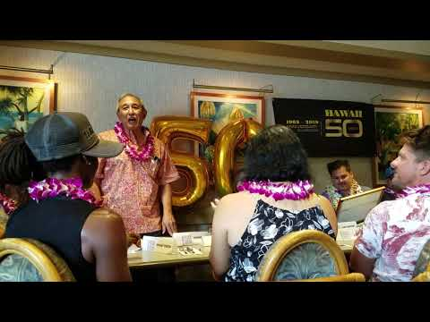 HAWAII FIVE0MAGNUM PI BREAKFAST HOSTED BY PETER LENKOV