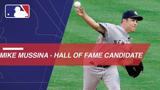 Mike Mussina is a 2018 HOF candidate