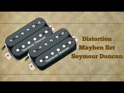 Seymour Duncan Distortion Mayhen Set - Turbo Guitar #106