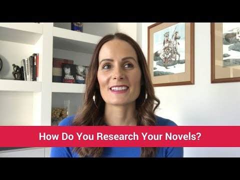 How Do You Research Your Novels?