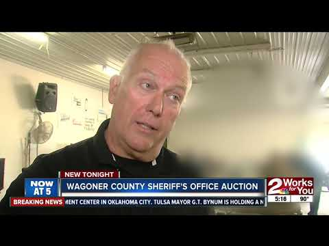 Wagoner County Sheriff's Office hosts property auction