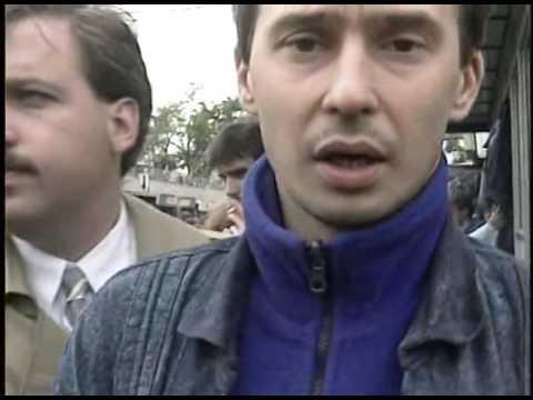 СССР, Москва, барахолка, 1990 г.