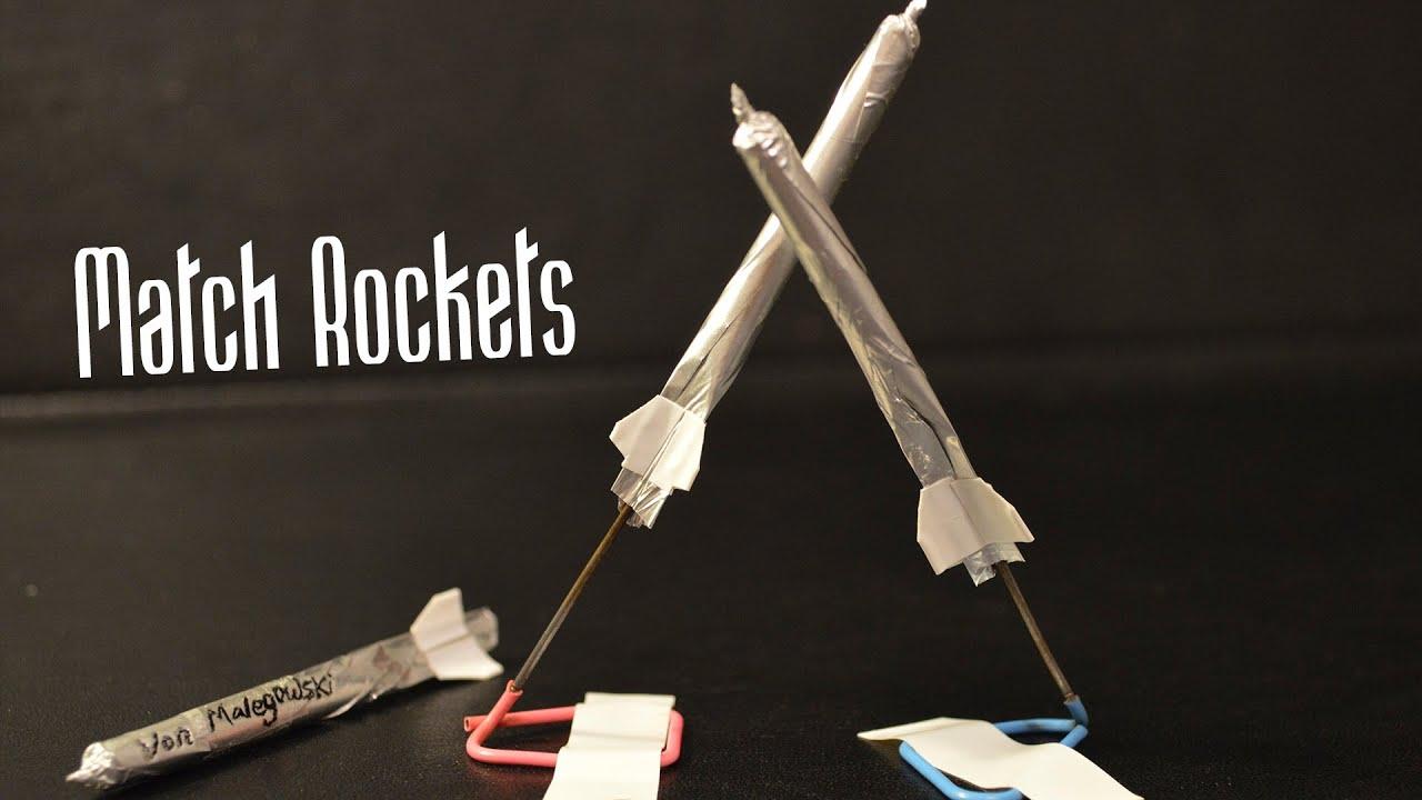 Download How to Make a MATCHSTICK ROCKET 🚀