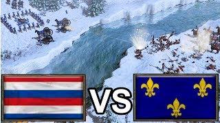 """""""Come on, END ME...!"""" – Aizamk vs The_LastSamurai! [Age of Empires 3]"""