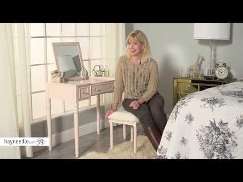 Linon Biltmore Vanity Set - Product Review Video