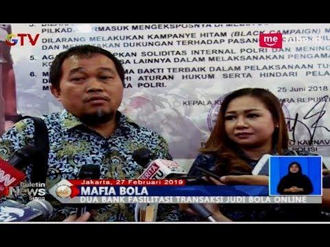 Pelapor Serahkan Bukti Dugaan 2 Bank Fasilitasi Transaksi Judi Bola Online - BIS 28/01 - 동영상