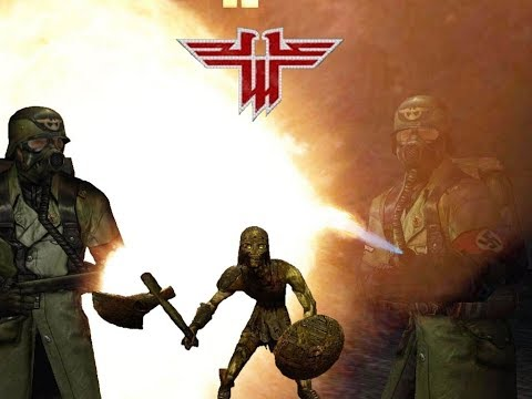 Return To Castle Wolfenstein - Полное Прохождение. Весь Сюжет. Секретные места.