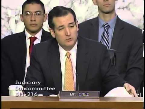 Sen. Ted Cruz Opening Statement in Judiciary Subcommittee Hearing on